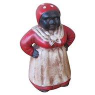 Vintage Decorative Cast Iron Bank  w5471