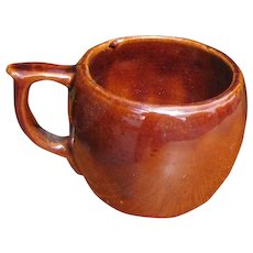 Antique Roycroft Porcelain Cup with a Handle  w6000