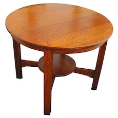 Antique Stickley Brothers Table  w92