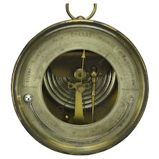 German Made Barometer Thermometer DC Anchor Mark