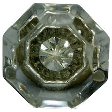 Crystal Door knob from ca 1880