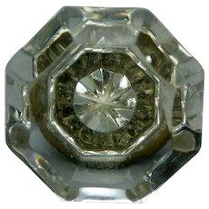 Crystal Door knob from ca 1880