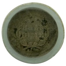 1856 US Seated Liberty Half Dime