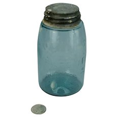 Mason's Midget Fruit Jar 1858 1867