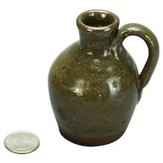 Burlon Craig North Carolina Pottery Mini Jug