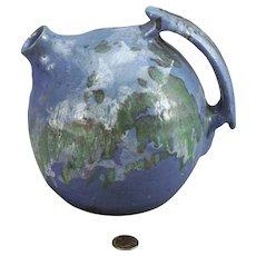 Charles C. C. Cole Moore County North Carolina Pottery Elixir Jug ca 1930