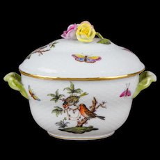Herend Rothschild Bird Candy Box