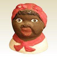 Vintage Aunt Jemima/ Mammy jar lid