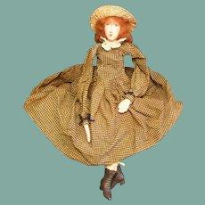 Great primitive doll