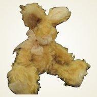 Adorable mohair bunny