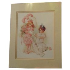 Wonderful Maud Humphrey print