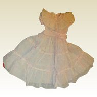 Darling dress with rows of ruffles