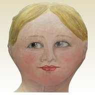 "Amazinly painted 31 "" cloth doll"