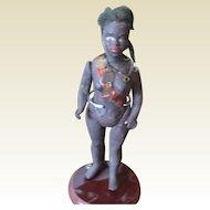 Antique Black doll warrior's wife