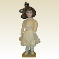 """Darling dolly faced bisque doll 26"""""""