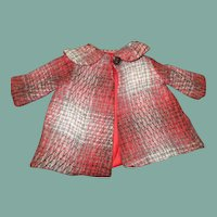 Darling coat  for a doll or Teddy