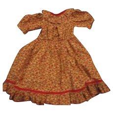 Beautiful dress red print