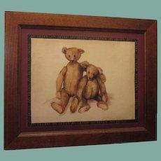 Great Teddy bear print ~  my buddy