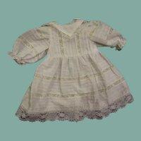 Beautiful dress inlaid lace