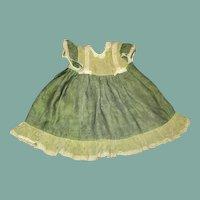 Adorable doll apron