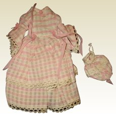 Darling petite doll dress and purse