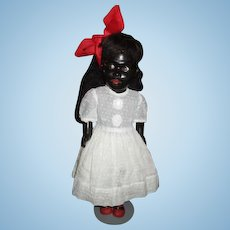 Incredible flirty eyed Black doll