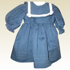 Adorable Sailor dress for doll or Teddy