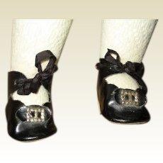 Darling large antique shoes