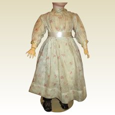 Gorgeous dimity hand stitched large dress