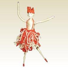 Deco bisque faced Ballerina
