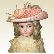 Wonderful large doll Hat