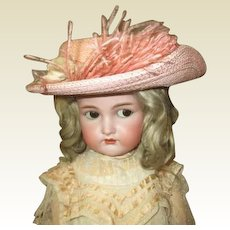 Wonderful large doll Hat