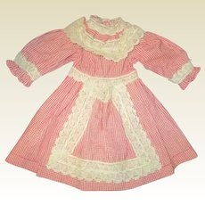 Adorable vintage doll dress