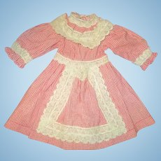 Adorable vintage doll dress