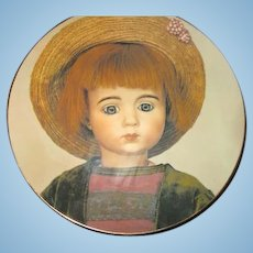 Plate of rarest Marque boy doll