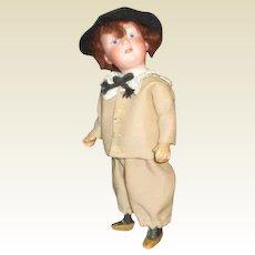 Adorable Gerbruder Heubach boy doll