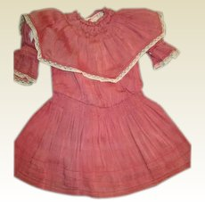 Wonderful antique  smocked dress