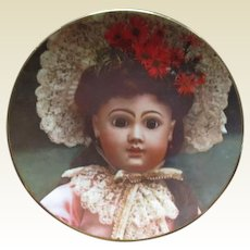 French Bebe Phoenix plate
