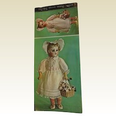 Antique French & German Doll postcards