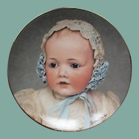 Wonderful Kestner baby  Hilda plate
