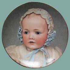 Wonderful Kestner baby  Hilda plate