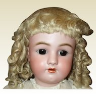 Stunning perfect large wig antique mohair