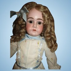 "Beautiful 25"" Kestner alphabet doll"
