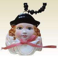 Wonderful Pierrette doll necklace