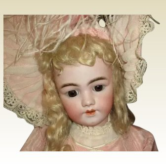 "Angelic 29"" Santa 1249 antique bisque"
