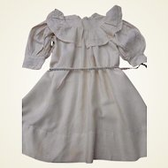 Beautiful large silk antique dress