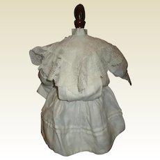Great antique drop waist dress