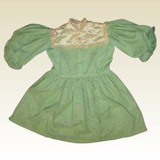 Adorable large size  gingham dress