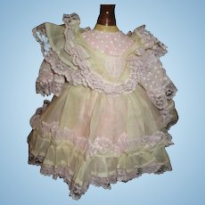 Adorable sweet dress  and  pinafore