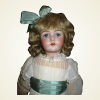 "Beautiful 27"" Simon Halbig 69 Antique bisque doll"